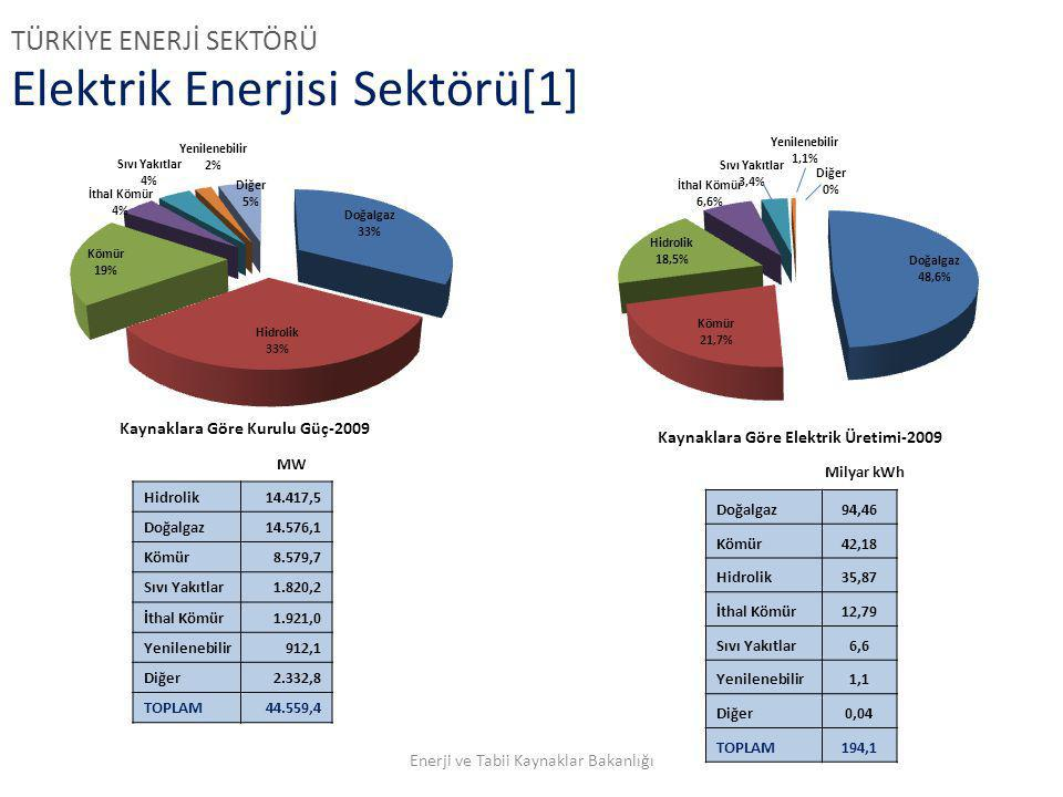 Elektrik Enerjisi Sektörü[1]